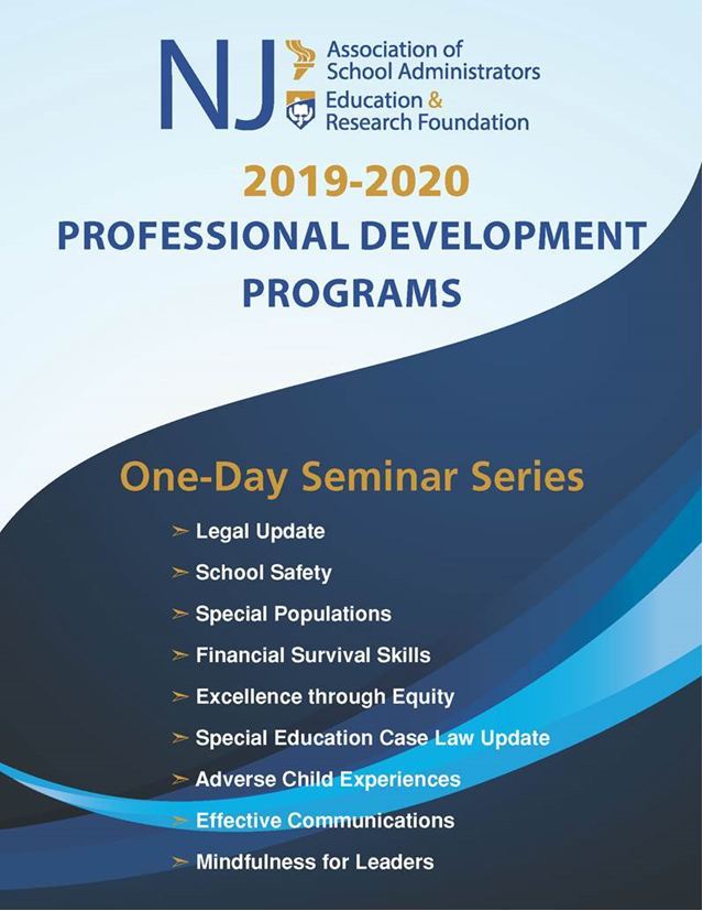 NJASA/NJERF One-Day Seminar Series