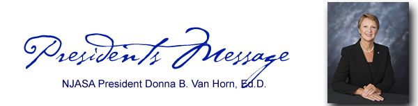 Presidents Message Donna Van Horn