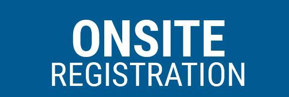 ONSITE Registration Button